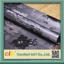 Tissu de vinyle en vinyle fabriqué en Chine