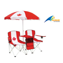 Double Seats Chair With Umbrella