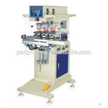Vente chaude Pneumatic 3 couleurs stress ball tampo printing machine