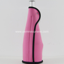 Single binding neoprene champagne drink bottle holders