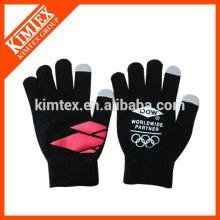 Gants tactiles en acrylique tricotés à la mode