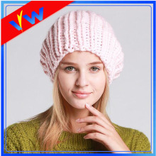 Warm Female Hat Slouch Iceland Yarn Beanie Hat