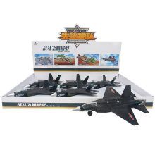 6PCS cada exhibición 31 aviones modelo negro de los combatientes