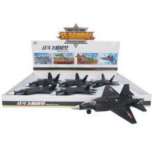 6PCS Каждый дисплей 31 Модель самолета Black Fighters