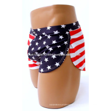 American flag USA shorts for women and girls for gym yoga exercise crossfit