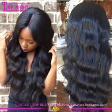 En gros sans colle soie top lacet perruque pas cher top top perruques de dentelle pour les femmes noires