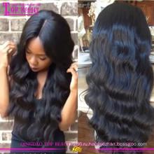 Оптовая продажа glueless шелковый топ полный парик шнурка дешевые шелковый топ полное кружева парики для чернокожих женщин