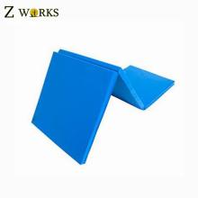 Azul 3 gimnasio plegable ejercicio Tumbling plegable marcial Arts Foam Mats