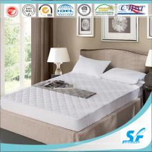 Poliéster puro resistente a las manchas protector de colchón impermeable