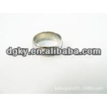 Anéis de aço inoxidável gravados para homens para dedos