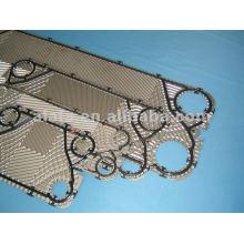 316 L Vicarb bezogene Platte für Plattenwärmetauscher, Wärmetauscher-Platte