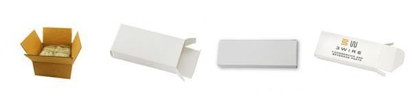 White Box with logo