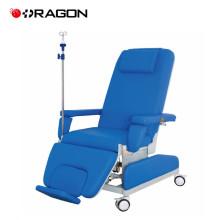 DW-HE009 Cadeira de hospital manual para diálise com suporte IV
