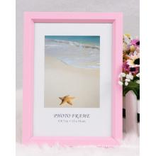 Cadre de Photo Frame/cadre/Colorfull retour ouvert Photo Frame/photo en plastique (BP)