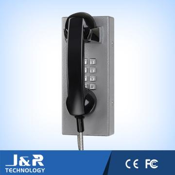 Teléfono Resistente a Vandalismo Teléfono de Prisión Telefónico Asistencia VoIP Teléfono