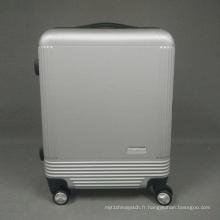 Porte-bagages à dossier ABS 22/26 pouces Sac à bagages Hard Shell