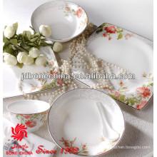 EU American standard stoneware earthenware bone china porcelain ceramic wedding plates wholesale