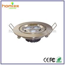 Enery salvando luces de techo LED 3W CE/ROHS aprobación