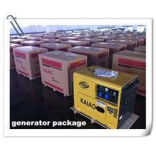 Generator with Standard Cartons 4.5kw, 5kw Silent Generator