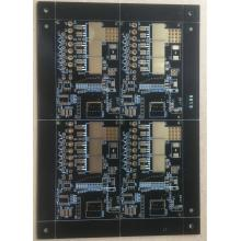 4 layer 0.8mm 2OZ  black  solder  ENIG  PCB