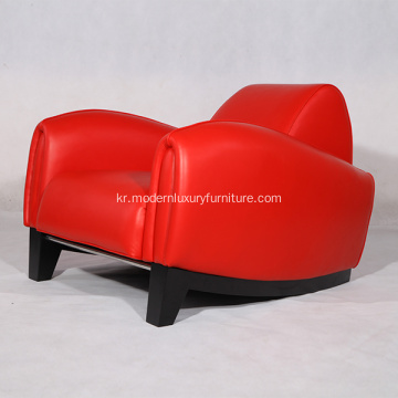 가죽 Franz Romero Bugatti Chairs Replica