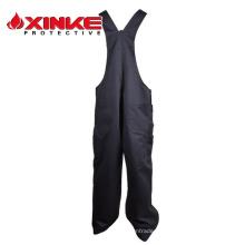 Workwear de la seguridad de la bata resistente a las llamas de xinke Fr con la cinta reflexiva para la protección del petróleo y del gas