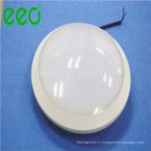 Lampe de plafond chauffante imperméable à la surface à haute puissance 24w avec capteur acoustique