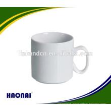 Food grade dishwasher safe hotel ceramic mug with handle