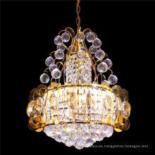 Araña de cristal redonda redonda interior de Oriente Medio luces de los colgantes