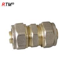 J 4 8 2 latão giratória de encaixe de compressão em linha reta acessórios do conector vbrass acessórios de compressão 22mm