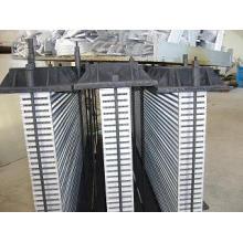 O núcleo do refrigerador do combi para o compressor de ar do parafuso