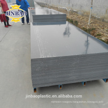 Jinbao 3mm 4mm floor gray 4x8ft rigid PVC sheet/PVC plastic board
