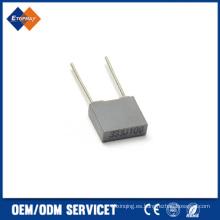 Condensador de película de poliéster metalizado 333j100V