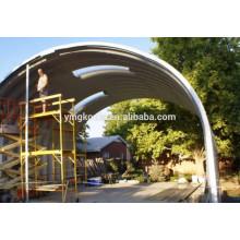 Panel de consterucción de acero de techo de arco de tornillo-tornillo que hace la máquina