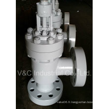 Valve flasque avec valve manuelle (Class150 ~ 600) en provenance de Chine