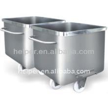 En acier inoxydable matériau standard camion 200L miroir / surface normale compatible avec toutes les machines