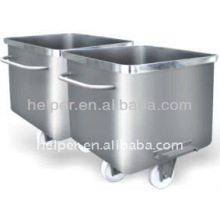 stainless steel standard material truck 200L mirror/normal surface compatible with all machines