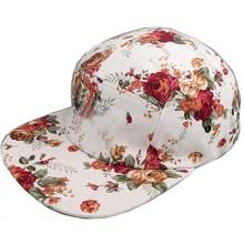 Neue Cotton Canvas 5-Panel-Herbst-Hysteresenkappen