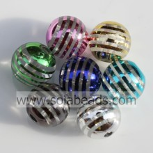 Holiday Decoration 12mm Colored Round Bubble Tiny beads