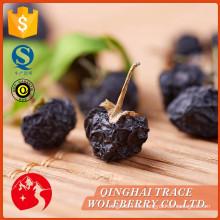 Nuevo tipo de venta top certificada orgánica negro goji bayas