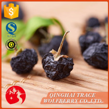 Black goji berry factory,dried style black medlar