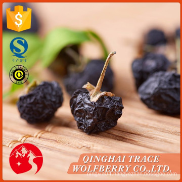 Free sample dried black goji berry for sale