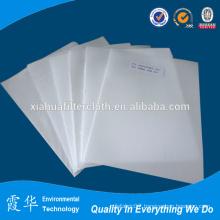 Filter cloth for medical waste incinerator