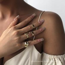 Good Quality Wholesale Forefinger Tail Ring Set Ring Opening Adjustable Ring Women Ring