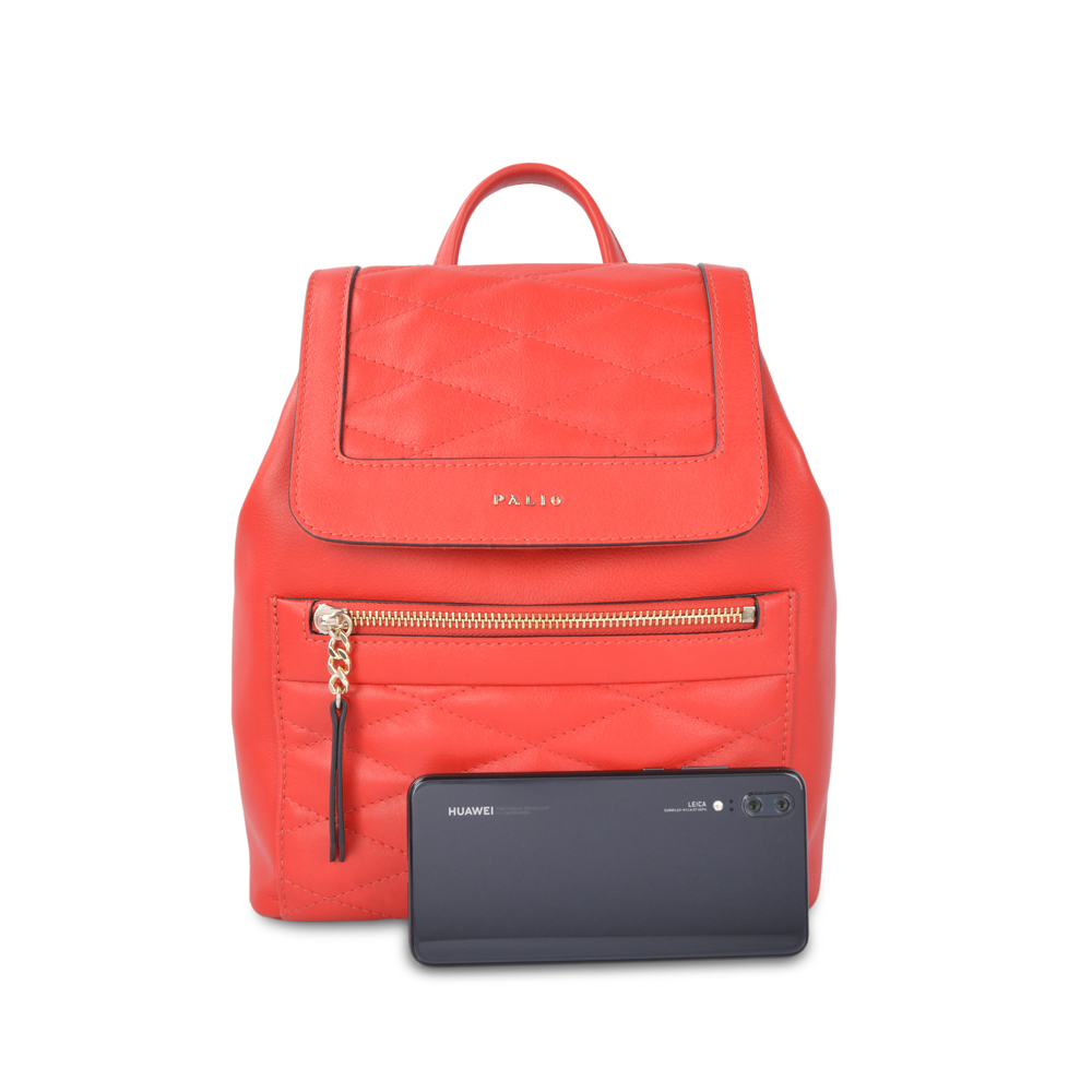hot sale fashion custom leather school designer backpack