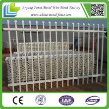 Weißer Puder beschichteter Stahl Aluminiumzaun zum Verkauf