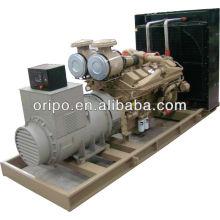 Cummins diesel 18kw-1MW jogo de gerador elétrico recarregável com cabeça de gerador barata