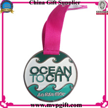 Спортивная медаль на заказ с логотипом заказчика