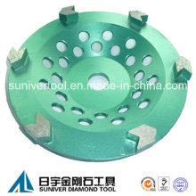 Arrow Segment Diamond Grinding Cup Wheel