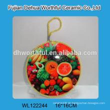 Personalisierte keramische dekorative Topfhalter mit Seil zum Aufhängen